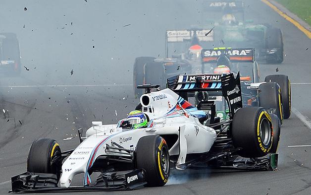 The 2014 Australian F1 Grand Prix