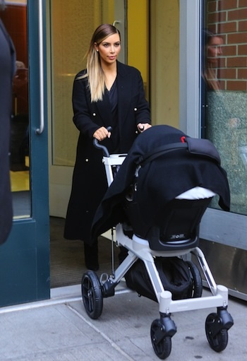 109759, NEW YORK, NEW YORK - Wednesday December 4, 2013. Kim Kardashian and baby North West head out of their Soho apartment in New York City. Photograph: © PacificCoastNews **FEE MUST BE AGREED PRIOR TO USAGE** **E-TABLET/IPAD & MOBILE PHONE APP PUBLISHING REQUIRES ADDITIONAL FEES** LOS ANGELES OFFICE: +1 310 822 0419 LONDON OFFICE: +44 20 8090 4079
