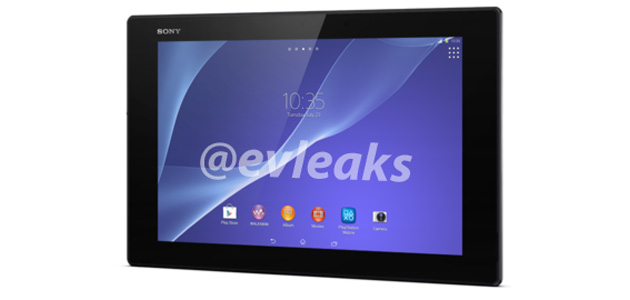 Sony Xperia Tablet Z2 leaked design