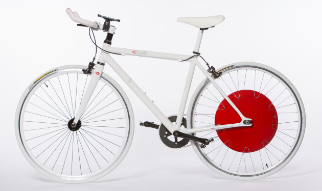 Bike Hybrid Wheels Copenhagen Wheel turns any