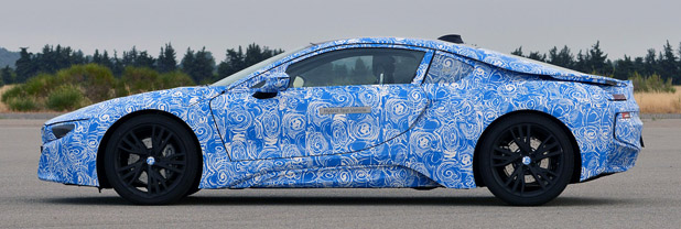 2014 BMW i8 Prototype side view