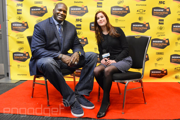 Shaquille O'Neal talks Fitbit, Google Glass and smartphones at SXSW