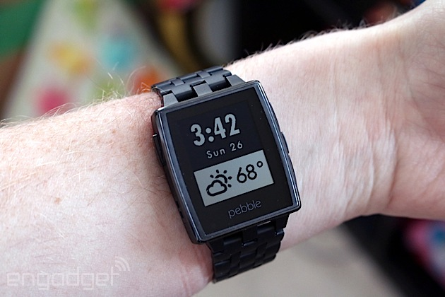 Pebble's Android app now lets you act on notifications straight from the watch