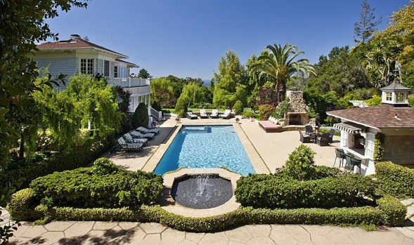 Dennis Miller house Santa Barbara, Calif.