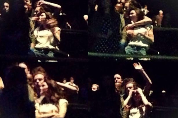 Harry Styles and Kendall Jenner pda at Eagles concert dating