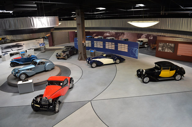Art of Bugatti at the Mullin Automotive Museum
