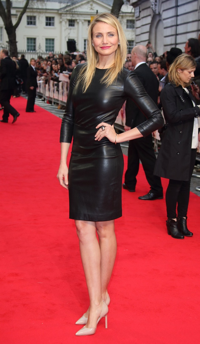 cameron-diaz-leather-dress-kate-upton-the-other-woman-uk-premiere