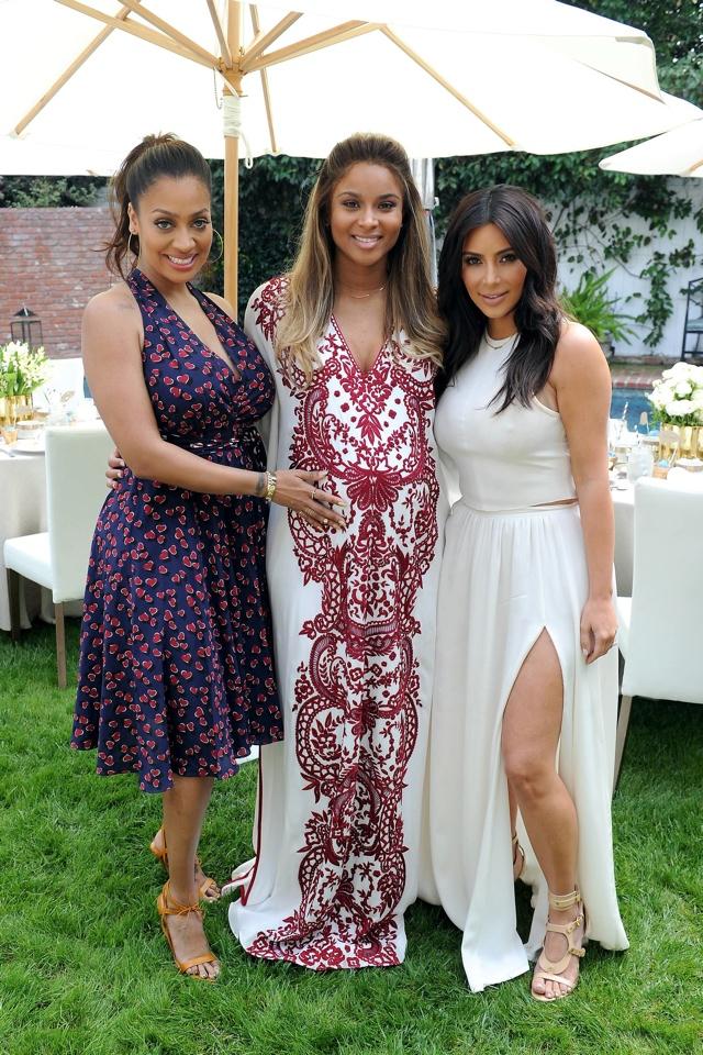 kim-kardashian-white-dress-ciara-baby-shower