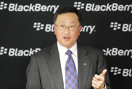 Blackberry CEO calls iPhone users