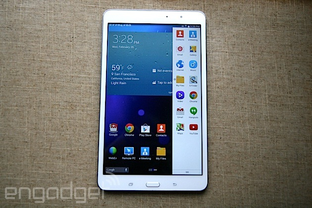 Samsung Galaxy Tab Pro 8.4 review: great screen, disappointing battery life
