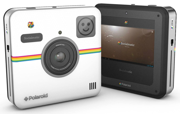 Polaroid's Socialmatic camera to fuse retro style, instant prints and Android this fall