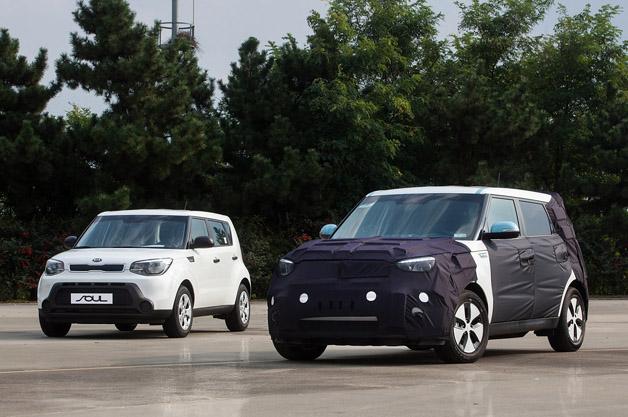2015 Kia Soul EV Prototype