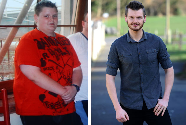Overweight schoolboy becomes weight loss coach
