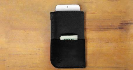 DODOcase Midnight Durables iPhone Wallet