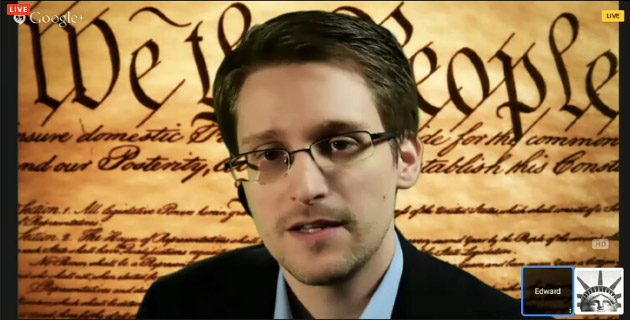 Putin tells Snowden live on air: no 'massive scale' surveillance of public communications