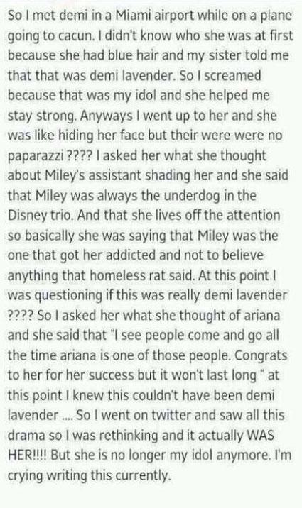 Demi Lavender Lovato