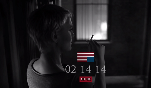 Award-winning Netflix original series House of Cards returns on Valentine's Day 2014 with a second season