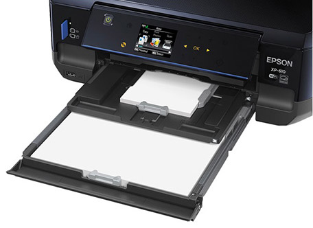 Epson XP-610 Paper Trays