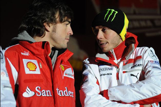 フェラーリがF・アロンソとMotoGPのV・ロッシをドライバーにしてル・マンに参戦!?