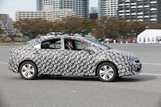Toyota hydrogen FCV prototype