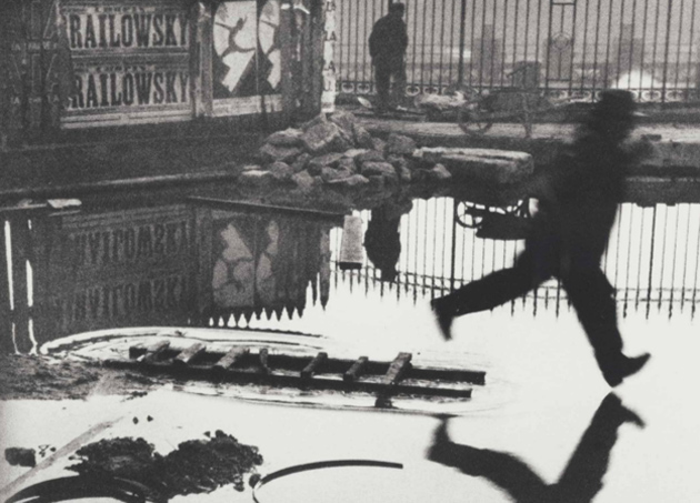 Behind the Gare St. Lazare, 1932, by Henri Cartier-Bresson.