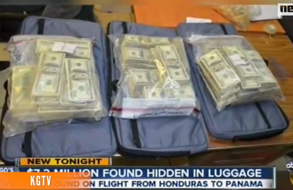 $7.2 Million Cash Found in Suitcases at Panama City Airport