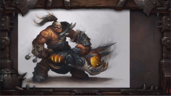 Warlords of Draenor Art Panel Orc