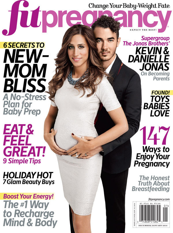 Kevin and Danielle Jonas Fit Pregnancy cover