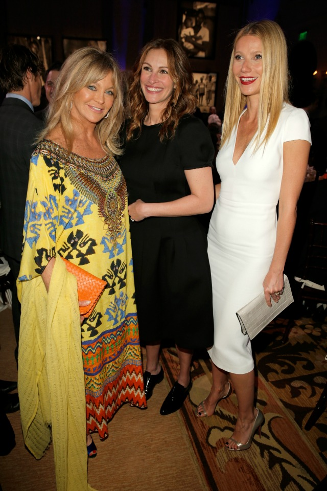 Gwyneth Paltrow, Goldie Hawn, Julia Roberts