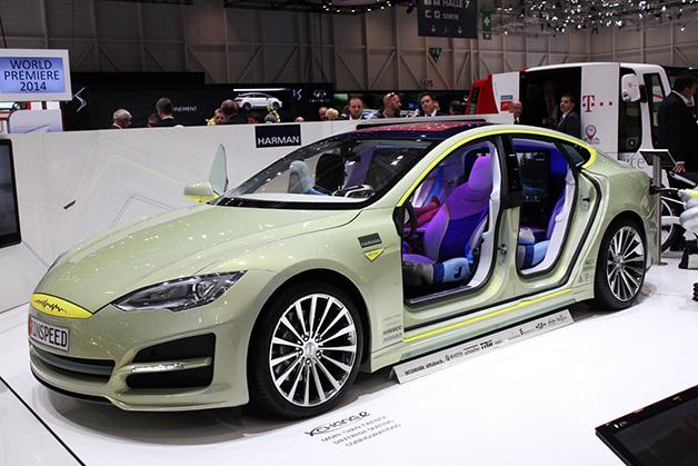 【ジュネーブ2014】リンスピード、自動運転EVのコンセプト「XchangE」を公開!