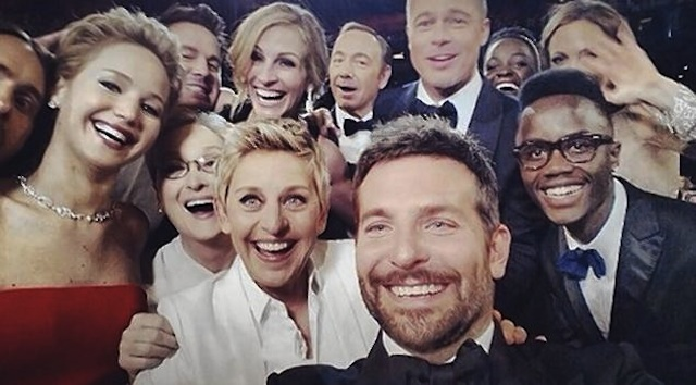 oscars 2014 instagram pictures