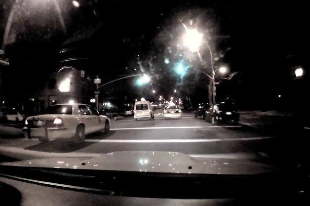 【ビデオ】55回連続で青信号を通過する映像!