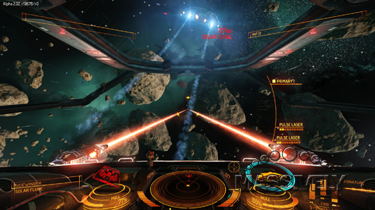 Elite: Dangerous alpha test