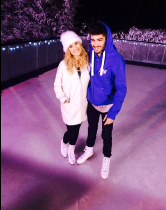 Zayn Malik and Perrie Edwards New Years Eve