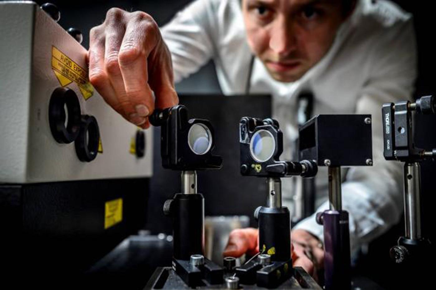 Esta cámara es tan rápida que es capaz de capturar procesos moleculares