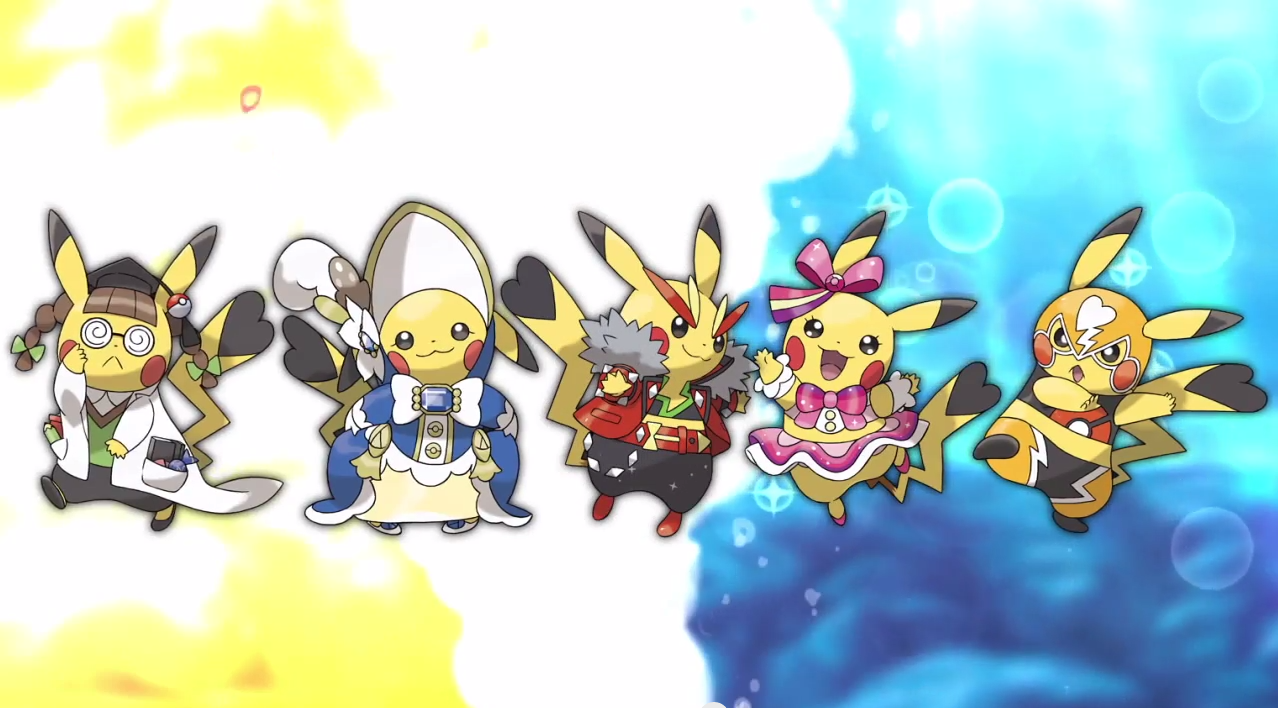 Cosplay Pikachu in Pokemon Omega Ruby and Alpha Sapphire