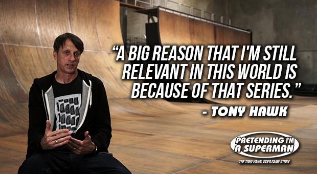 Dokufilm über Tony Hawk und das erfolgreichste Skate-Spiel der Welt