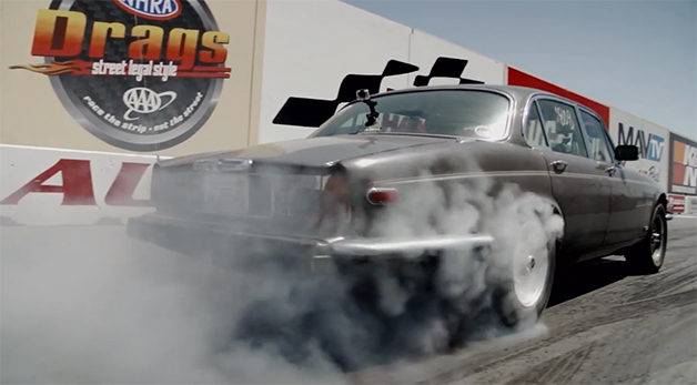 Screencap from the first episode of Hot Rod Garage from Hot Rod magazine.