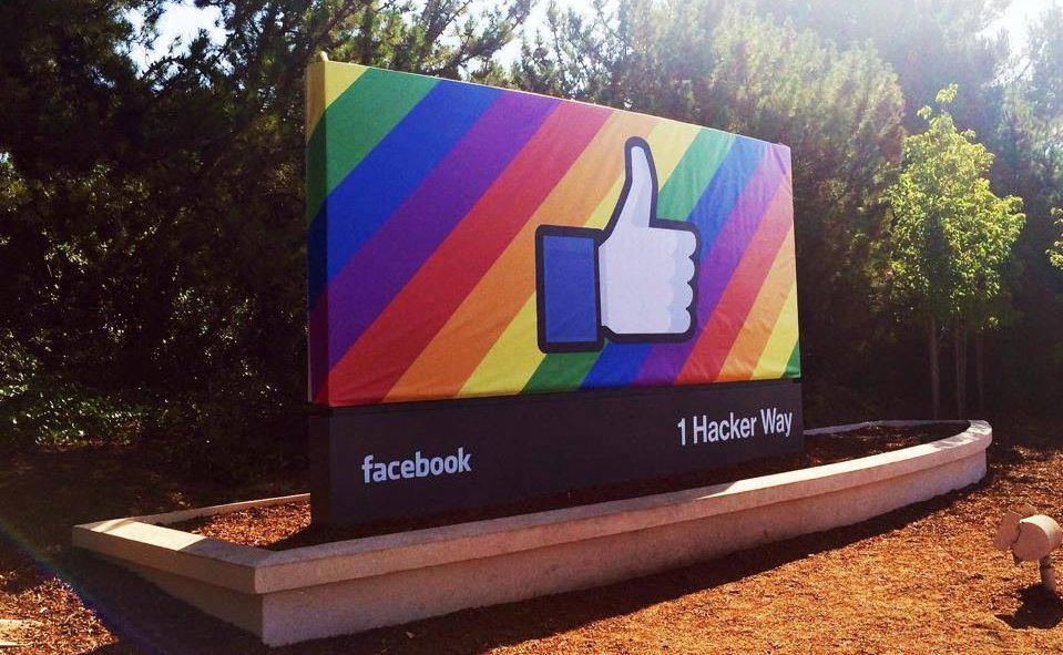 More and more people are coming out on Facebook