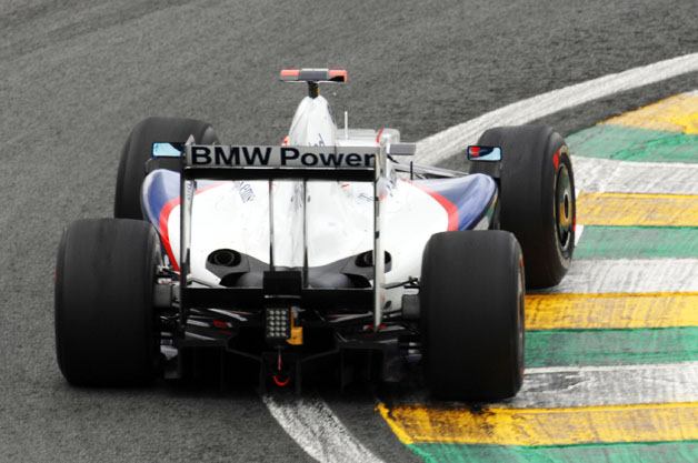 BMW Sauber F1.09 at Interlagos