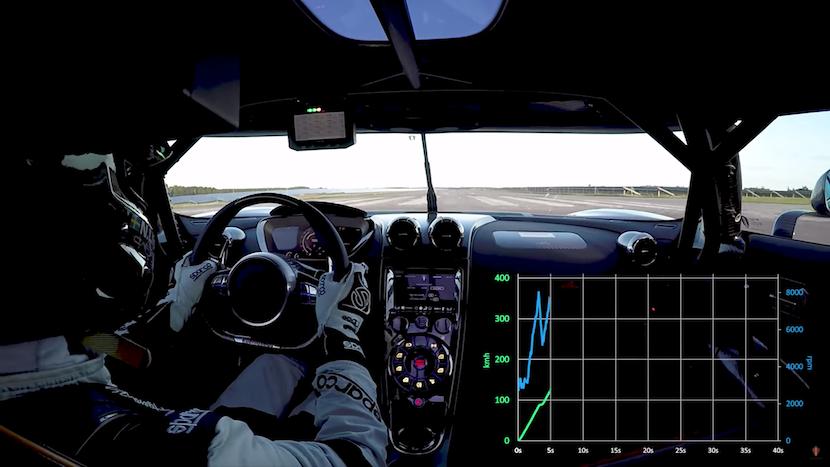 Koenigsegg Agera RS: Neuer Weltrekord von 0-400-0