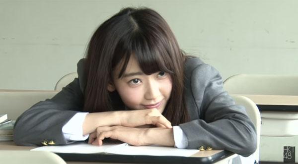 宮脇咲良のブレザー姿が可愛すぎてずっと見てられるレベル HKT48カレンダーメイキング映像公開