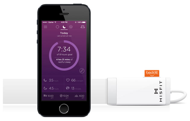 Misfit offers insight on your insomnia with the Beddit sleep monitor