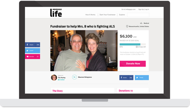 Indiegogo's new serivce lets you quickly raise funds for personal causes
