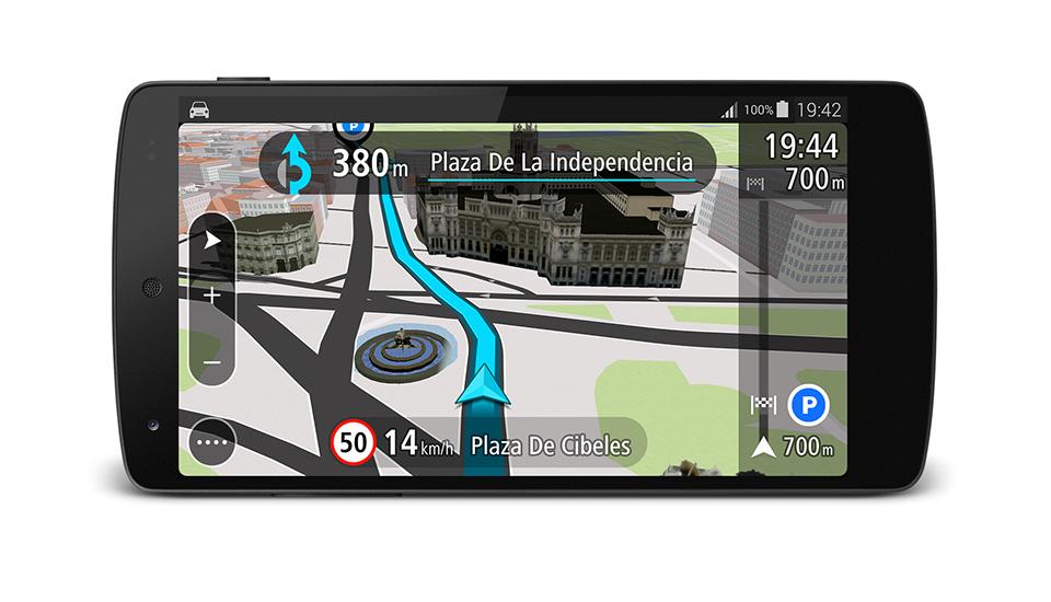 TomTom para Android será gratis si recorres menos de 75 Km