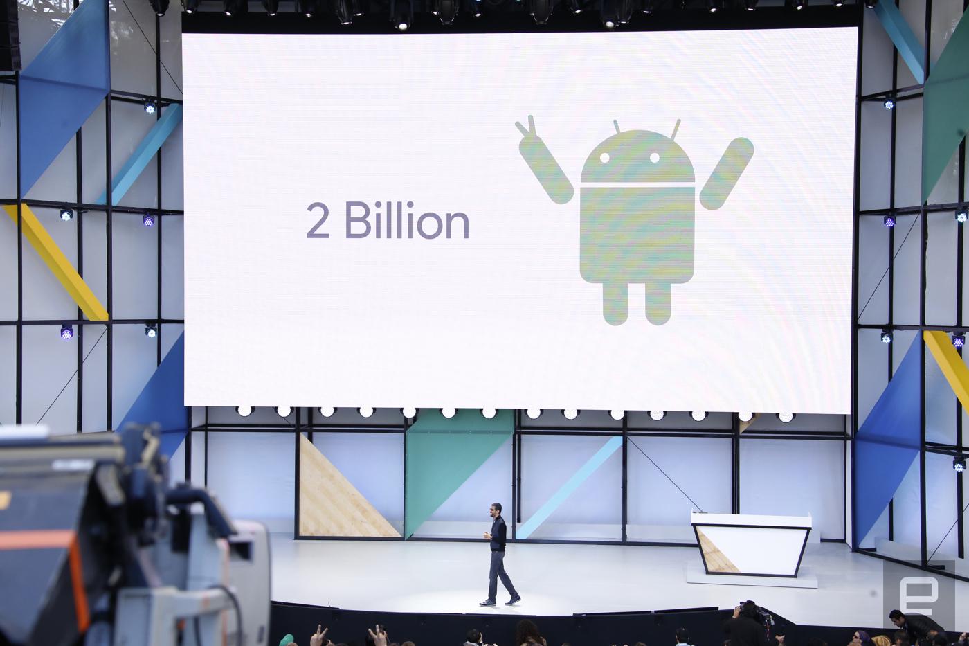 Dos mil millones: ese es el número de usuarios activos de Android que hay ahora en el mundo