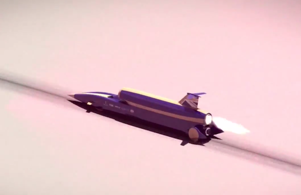 World land speed record challenger - Bloodhound