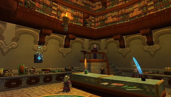 Inscription shop in Dalaran