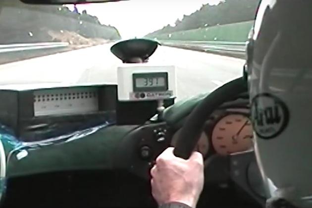 【ビデオ】「マクラーレン F1」が当時の市販車最高速度記録を樹立した時の走行映像!