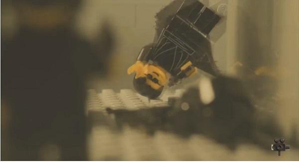 レゴで作った映画『マトリックス』名シーン、ロビーでの銃撃シーンがスゴすぎる【動画】
